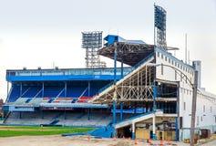 Подрывание Detroits старое Tiger Stadium Стоковые Фотографии RF