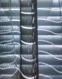 Подсвеченные pattens через шторки и занавес окна стоковые изображения rf