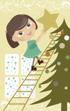 подсвинок рождества меньший вал Стоковые Изображения