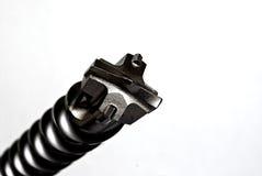 подсказка бита изолированная сверлом Стоковые Фото