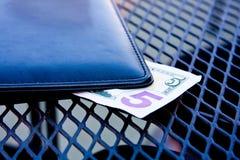 Подсказка 5 долларов Стоковые Фотографии RF