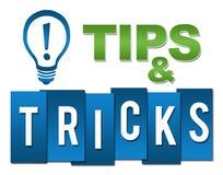 Подсказки и синь фокусов профессиональная зеленая с символом иллюстрация вектора