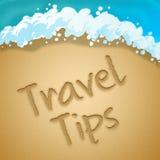 Подсказки перемещения показывают иллюстрацию намеков 3d путешествия бесплатная иллюстрация
