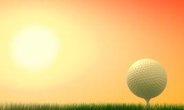 подсовокупность спички гольфа стоковое фото