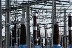 подстанция электричества Стоковые Фотографии RF