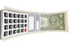 подсчитывать деньги прибора Стоковое фото RF