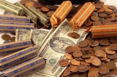 подсчитывать деньги Стоковое Изображение RF