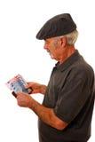 подсчитывать человека евро Стоковая Фотография RF