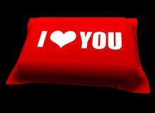 подушка влюбленности Стоковое фото RF