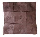 подушка изолированная коричневым цветом Стоковые Изображения