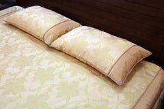 подушка кровати Стоковая Фотография