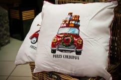 Подушки или валики рождества для продажи Стоковое Изображение