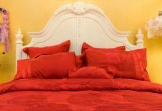 подушки кровати Стоковые Изображения RF