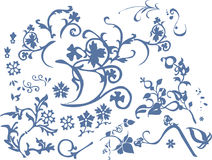 подходящая картина цветков Стоковое Фото