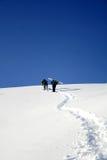 подъем альпиниста к стоковое фото rf