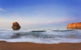 Подъем апостола пляжа 1 ГОРА Гибсона Стоковые Изображения RF