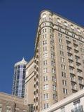 подъем высокого центра города новый старый Стоковое фото RF