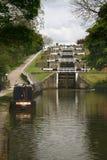 подъем замков канала 5 Стоковые Фото