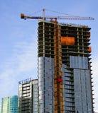 подъем конструкции здания высокий Стоковое фото RF