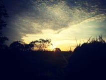 Подъем Солнця Стоковое Изображение RF