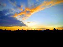 Подъем Солнця Стоковое Фото
