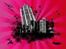 подъем explodin здания высокий Стоковое Изображение