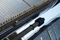 подъем moscow разбивочного города здания высокий Стоковые Изображения RF