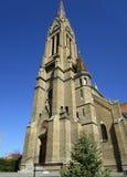под взглядом церков Стоковое Изображение