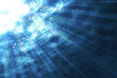 под водой Стоковое Изображение RF