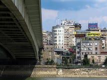 Под мостом стоковое фото