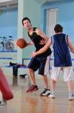 Поединок баскетбола Стоковые Изображения RF