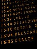 поезда отклонения доски Стоковые Фотографии RF