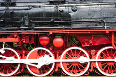 поезда пара Стоковая Фотография