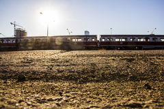 Поезда alewife Бостона Стоковые Фото