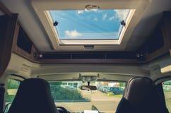Поездка жилого фургона RV стоковая фотография
