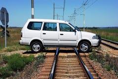 поезд аварии потенциальный Стоковые Фотографии RF