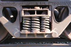 поезд весен автомобиля Стоковое Изображение RF