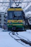 поезд горы Стоковое Фото
