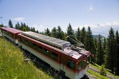 поезд горы Стоковые Фото