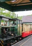 Поезд горы Snowdon железнодорожный в Snowdonia Стоковое Изображение RF