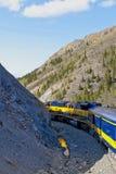 поезд гор стоковая фотография