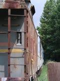 Поезд груза год сбора винограда Стоковое Изображение RF