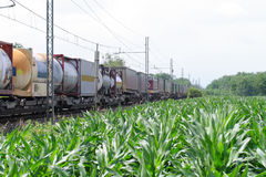 поезд груза Стоковое фото RF