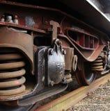 поезд детали груза Стоковые Изображения RF