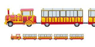 поезд детей Стоковые Изображения