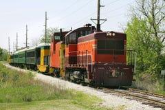 поезд езды стоковые фотографии rf