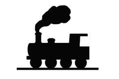 поезд знака Стоковая Фотография RF