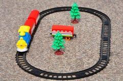 Поезд игрушки стоковые фото