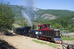 Поезд конца мира стоковые фотографии rf