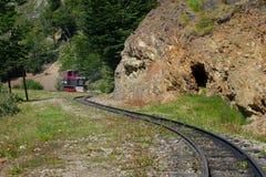 Поезд конца мира стоковое изображение rf